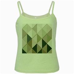 Background Geometric Triangle Green Spaghetti Tank