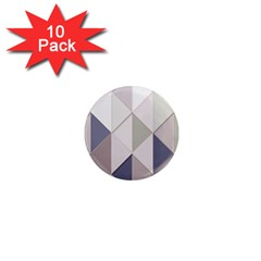 Background Geometric Triangle 1  Mini Magnet (10 Pack)  by Nexatart