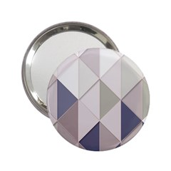 Background Geometric Triangle 2 25  Handbag Mirrors