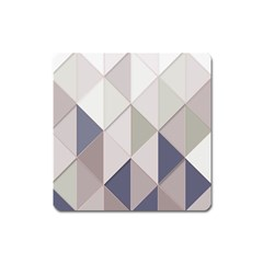 Background Geometric Triangle Square Magnet