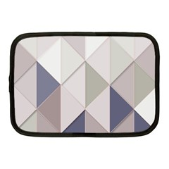 Background Geometric Triangle Netbook Case (medium)