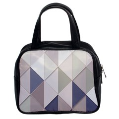 Background Geometric Triangle Classic Handbags (2 Sides)
