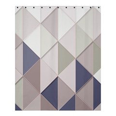 Background Geometric Triangle Shower Curtain 60  X 72  (medium)