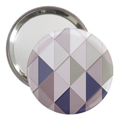 Background Geometric Triangle 3  Handbag Mirrors