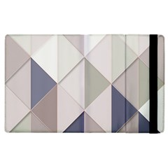 Background Geometric Triangle Apple Ipad 3/4 Flip Case