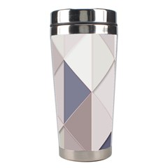 Background Geometric Triangle Stainless Steel Travel Tumblers by Nexatart