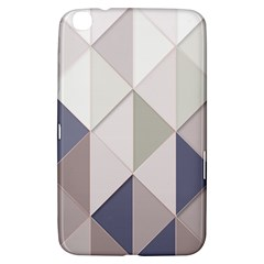 Background Geometric Triangle Samsung Galaxy Tab 3 (8 ) T3100 Hardshell Case