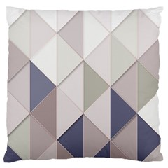 Background Geometric Triangle Standard Flano Cushion Case (one Side)