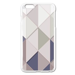 Background Geometric Triangle Apple Iphone 6 Plus/6s Plus Enamel White Case