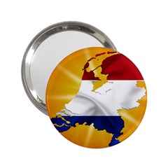 Holland Country Nation Netherlands Flag 2 25  Handbag Mirrors