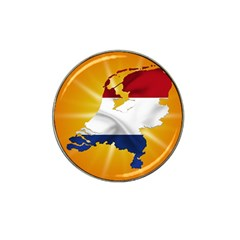 Holland Country Nation Netherlands Flag Hat Clip Ball Marker (4 Pack)