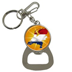 Holland Country Nation Netherlands Flag Button Necklaces