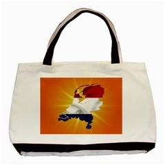 Holland Country Nation Netherlands Flag Basic Tote Bag