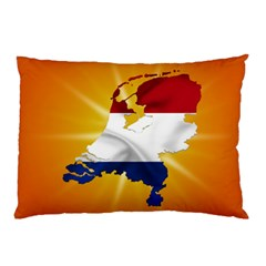 Holland Country Nation Netherlands Flag Pillow Case