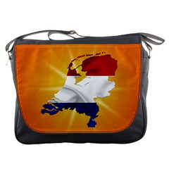 Holland Country Nation Netherlands Flag Messenger Bags