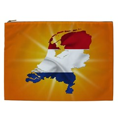 Holland Country Nation Netherlands Flag Cosmetic Bag (xxl)