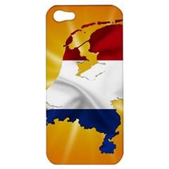 Holland Country Nation Netherlands Flag Apple Iphone 5 Hardshell Case