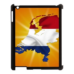 Holland Country Nation Netherlands Flag Apple Ipad 3/4 Case (black) by Nexatart