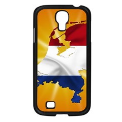 Holland Country Nation Netherlands Flag Samsung Galaxy S4 I9500/ I9505 Case (black)