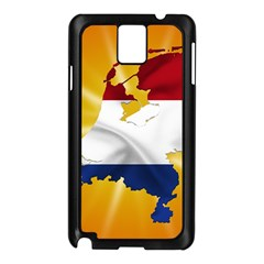 Holland Country Nation Netherlands Flag Samsung Galaxy Note 3 N9005 Case (black)