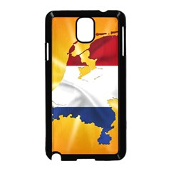 Holland Country Nation Netherlands Flag Samsung Galaxy Note 3 Neo Hardshell Case (black)