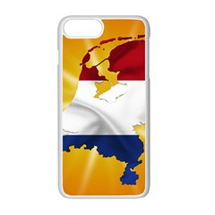 Holland Country Nation Netherlands Flag Apple Iphone 7 Plus Seamless Case (white)