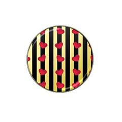 Love Heart Pattern Decoration Abstract Desktop Hat Clip Ball Marker