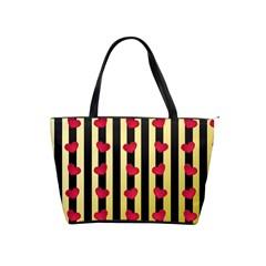 Love Heart Pattern Decoration Abstract Desktop Shoulder Handbags