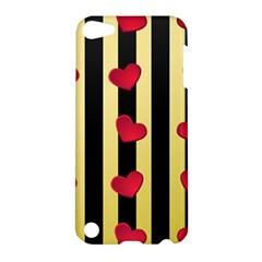 Love Heart Pattern Decoration Abstract Desktop Apple Ipod Touch 5 Hardshell Case