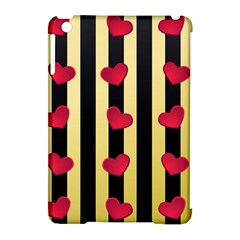 Love Heart Pattern Decoration Abstract Desktop Apple Ipad Mini Hardshell Case (compatible With Smart Cover)