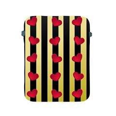 Love Heart Pattern Decoration Abstract Desktop Apple Ipad 2/3/4 Protective Soft Cases
