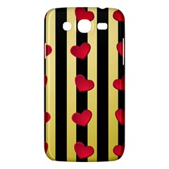 Love Heart Pattern Decoration Abstract Desktop Samsung Galaxy Mega 5 8 I9152 Hardshell Case