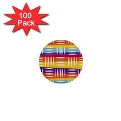 Art Background Abstract 1  Mini Buttons (100 Pack)