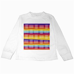 Art Background Abstract Kids Long Sleeve T Shirts
