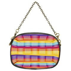 Art Background Abstract Chain Purses (two Sides)