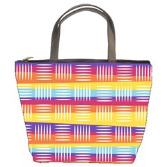Art Background Abstract Bucket Bags