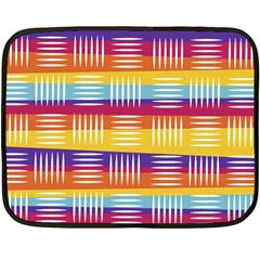 Art Background Abstract Fleece Blanket (mini)