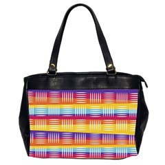 Art Background Abstract Office Handbags (2 Sides)