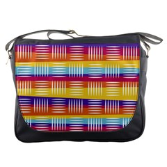 Art Background Abstract Messenger Bags