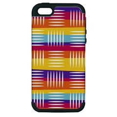 Art Background Abstract Apple Iphone 5 Hardshell Case (pc+silicone)