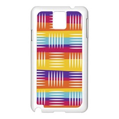 Art Background Abstract Samsung Galaxy Note 3 N9005 Case (white)
