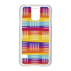 Art Background Abstract Samsung Galaxy S5 Case (white)