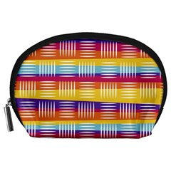 Art Background Abstract Accessory Pouches (large)