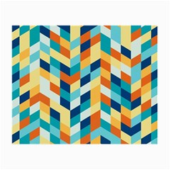 Geometric Retro Wallpaper Small Glasses Cloth