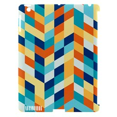 Geometric Retro Wallpaper Apple Ipad 3/4 Hardshell Case (compatible With Smart Cover)
