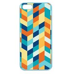 Geometric Retro Wallpaper Apple Seamless Iphone 5 Case (color)