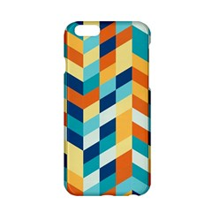 Geometric Retro Wallpaper Apple Iphone 6/6s Hardshell Case by Nexatart