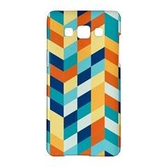 Geometric Retro Wallpaper Samsung Galaxy A5 Hardshell Case