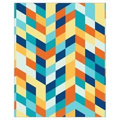 Geometric Retro Wallpaper Drawstring Bag (small)