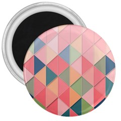 Background Geometric Triangle 3  Magnets